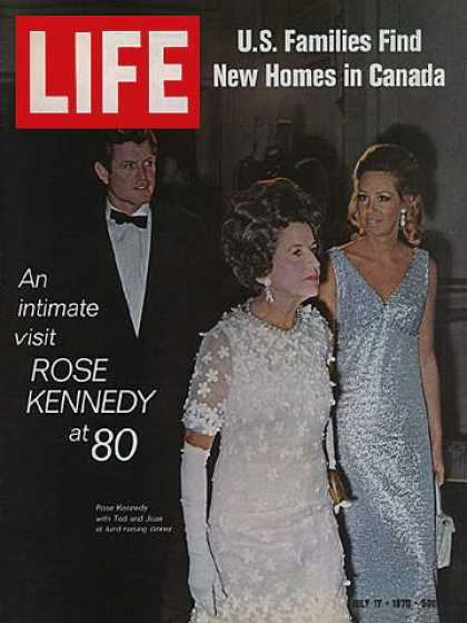 Life - Ted, Rose, and Joan Kennedy