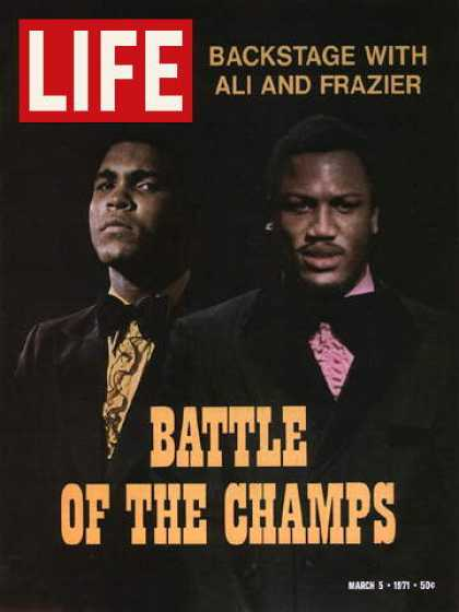 Life - Muhammad Ali and Joe Frazier
