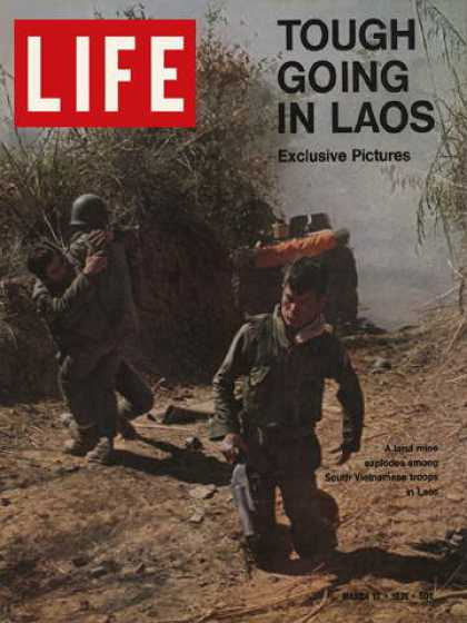Life - South Vietnamese soldiers in Laos