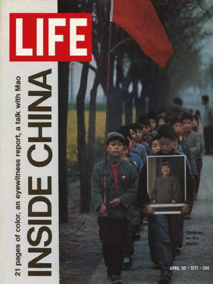 Life - Chinese children marching