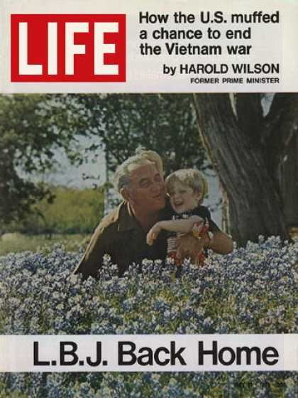Life - Lyndon B. Johnson back home