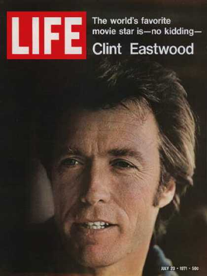 Nixo Clint Eastwood Painting By Nicholas Nixo: Life Covers #1750-1799