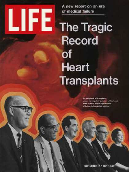Life - Heart transplant patients