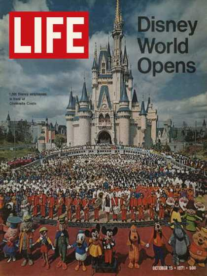 Life - Opening of Disney World