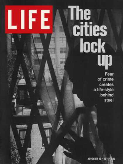 Life - Window barred to keep out crime