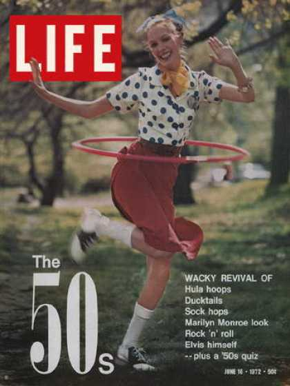 Life - Girl with Hula Hoop