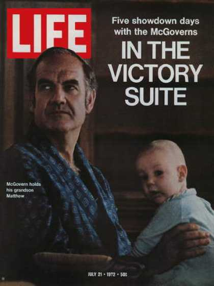 Life - George McGovern and Grandson Matthew