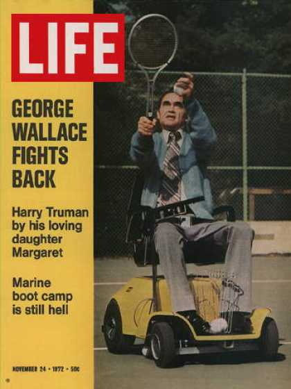 Life - George Wallace on the mend
