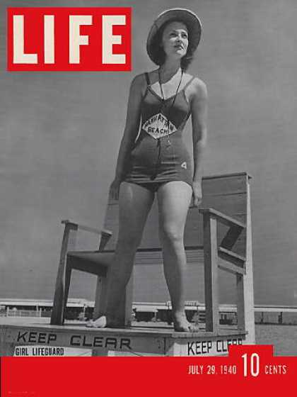Life - Girl lifeguard