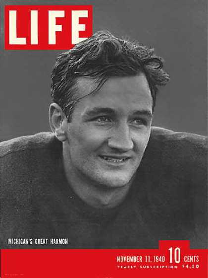 Life - Michigan's Tom Harmon