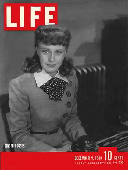 Life - Ginger Rogers