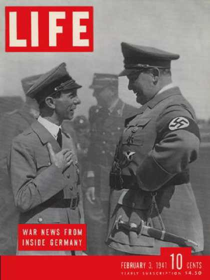 Life - Goebbels and Goering