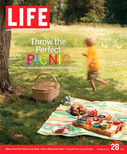 "Life - ""] Four easy ways to enjoy a meal in the great outdoors ""] Pop star Daniel Powte"