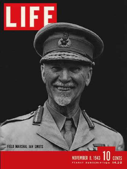 Life - South Africa's Jan Smuts