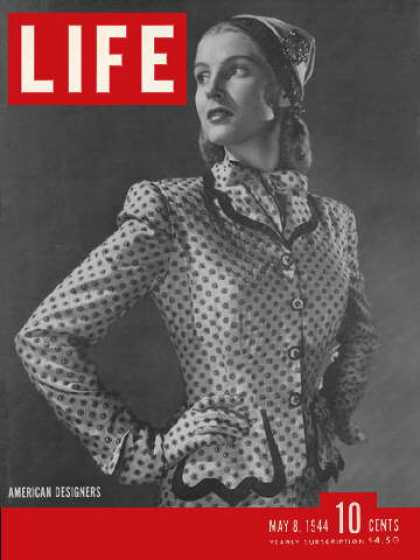 Life - Hattie Carnegie suit in fashion