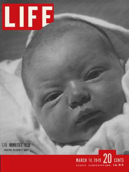 Life - Three hours old