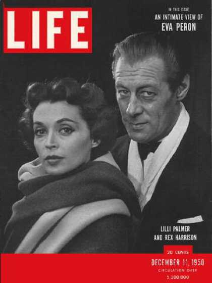 Life - Lilli Palmer and Rex Harrison