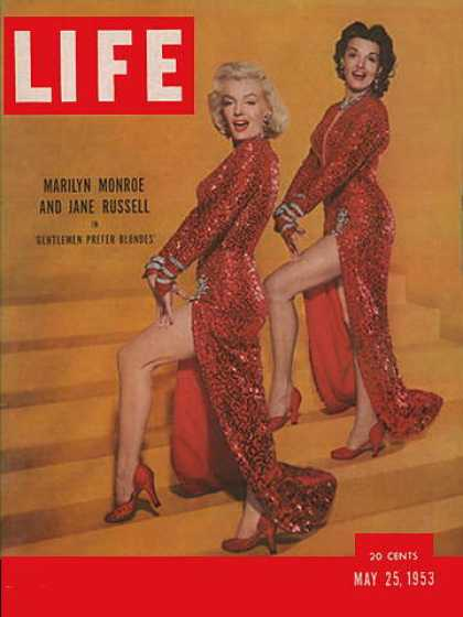 Life - Marilyn Monroe and Jane Russell