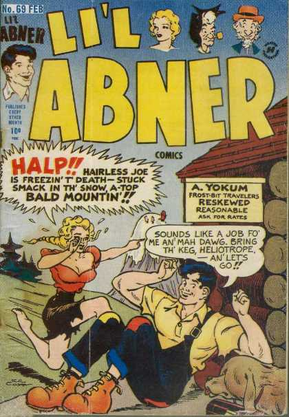 Li'l Abner 69 - A Yokum - Reskewed - Reasonable Rates - Hairless Joe - Bald Mountin