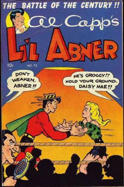 Li'l Abner 72 - The Battle Of The Century - No72 - Cap - Woman - Man