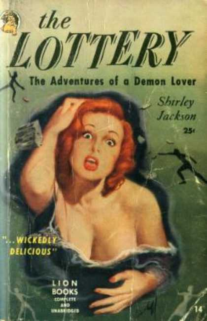 Lion Books - The Lottery: The Adventures of a Demon Lover - Shirley Jackson
