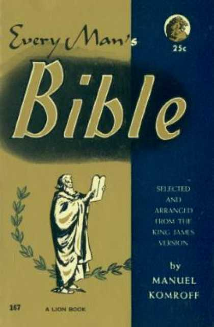 Lion Books - Every Man's Bible