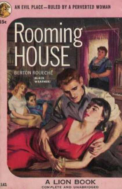 Lion Books - Rooming House - Berton Roueche