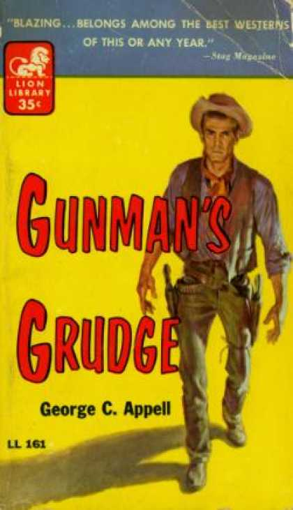 Lion Books - Gunman's Grudge - George C. Appell