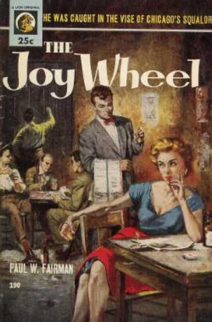 Lion Books - The Joy Wheel - Paul W. Fairman