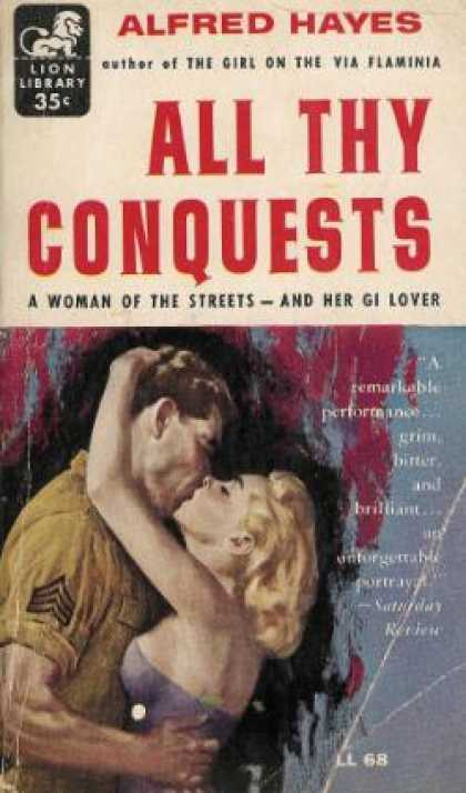 Lion Books - All Thy Conquests - Alfred Hayes