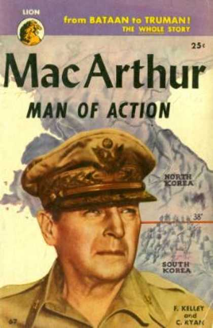Lion Books - Macarthur: Man of Action - F. Kelley and C. Ryan