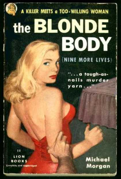 Lion Books - Blonde Body, the (lion 11) - Michael Morgan