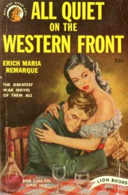 Lion Books - All Quiet On the Western Front - Erich Maria Remarque