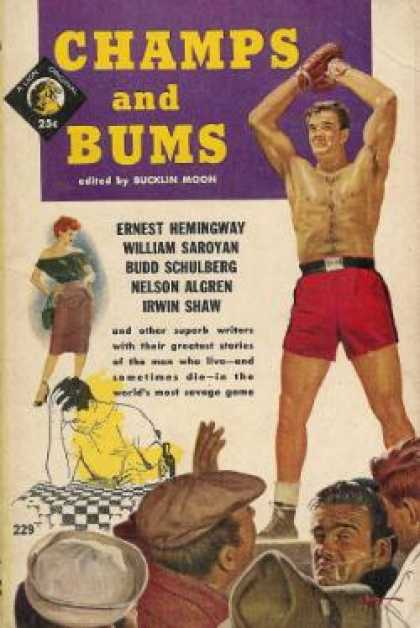 Lion Books - Champs and Bums - Bucklin Moon