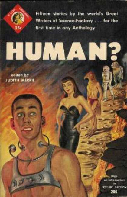 Lion Books - Human? 15 Classics Sf Stories