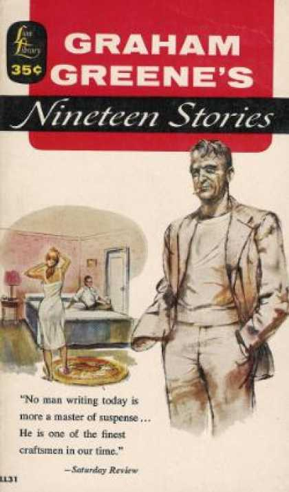 Lion Books - Nineteen Stories - Graham Greene