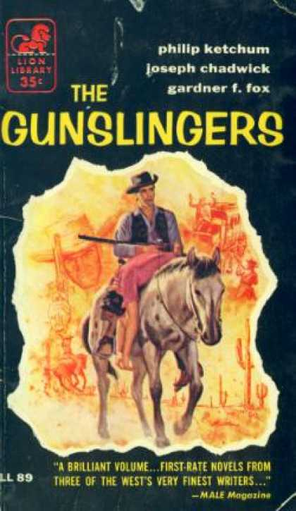 Lion Books - The Gunslingers - Philip Ketchum