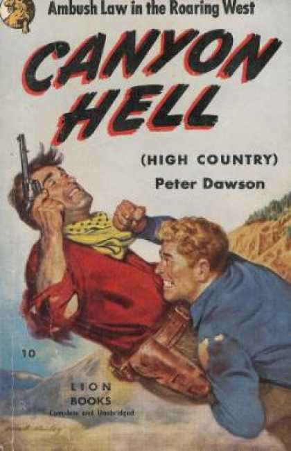 Lion Books - Canyon Hell - Peter Dawson