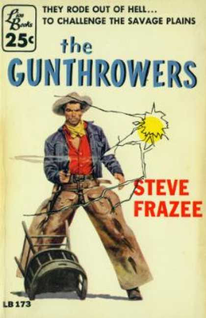 Lion Books - The Gunthrowers - Steve Frazee