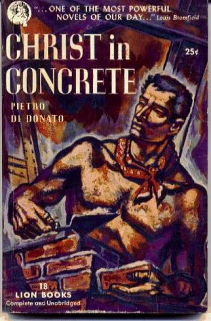 Lion Books - Christ in Concrete - Pietro Di Donato