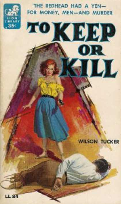 Lion Books - To Keep or Kill - Wilson Tucker