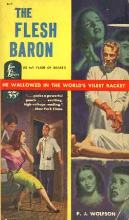 Lion Books - The Flesh Baron - P. J Wolfson