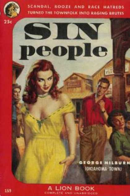 Lion Books - Sin People - George Milburn