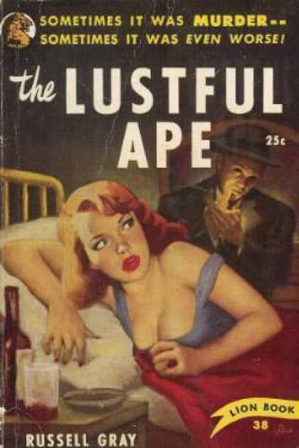 Lion Books - The Lustful Ape - Russell Gray