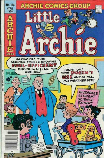 Little Archie 164 - Mr Weatherbee - Riverdale Student Science Exhibit - Fuel - Engines - Kids