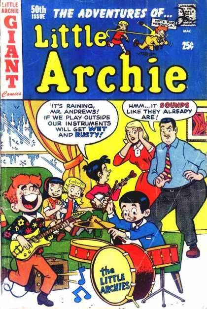 Little Archie 50 - Giant Comics - Instruments - Music - Speech Bubble - 50th Issue