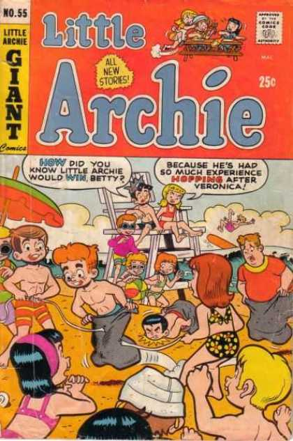 Little Archie 55 - Beach - Dating - Relationships - Bathing Suits - Swimming