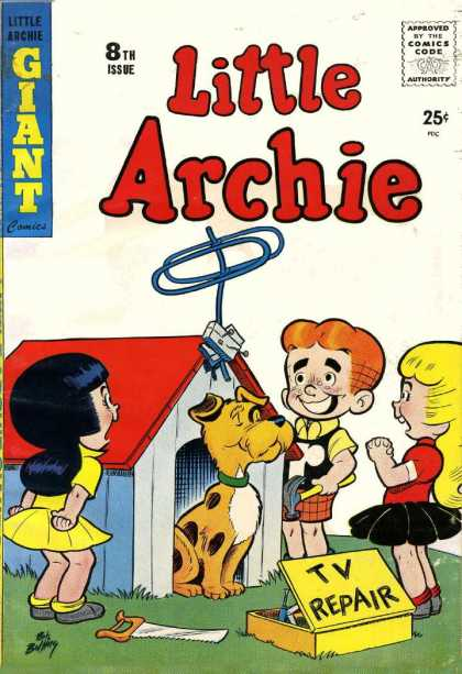 Little Archie 8 - Comics - Kids - Playground - Friends - Excitement