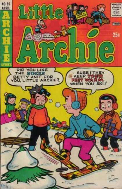 Little Archie 85 - No85 April - Archie Series - Your Feet Warm - Socks - Betty Knit