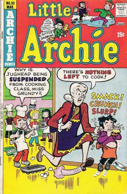 Little Archie 93 - Cooking Class - Theres Nothing Left To Cook - Jughead - Teacher - Suspended